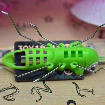 Frightened Kit Solar Powered Grasshopper -  GREEN