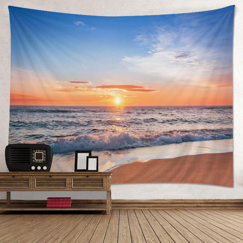 Wall Hanging Art Decor Beach Sunset Print Tapestry wall hanging art decor window sunset trees print tapestry
