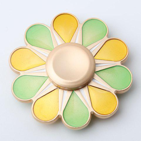 High Speed Floral Hand Spinner Fidget Toy - COLORMIX 5.5*5.5*1.3CM