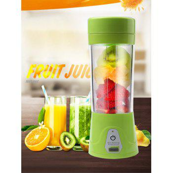 USB Charging Fruit Stirring Healthy Multifunctional Juicer Cup - GREEN GREEN