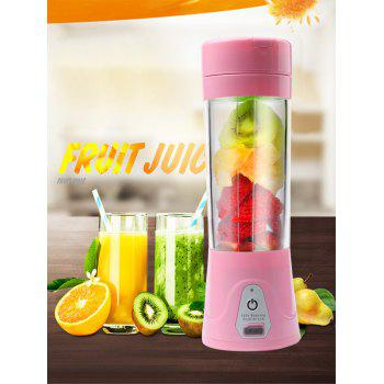 USB Charging Fruit Stirring Healthy Multifunctional Juicer Cup - PINK PINK