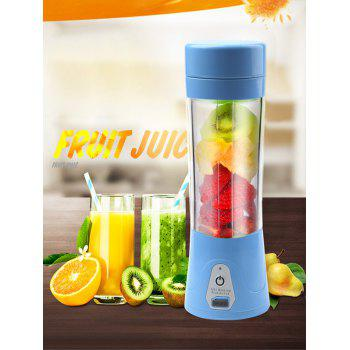 USB Charging Fruit Stirring Healthy Multifunctional Juicer Cup - BLUE BLUE