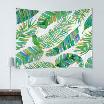 Wall Hanging Art Decor Tropical Leaf Print Tapestry
