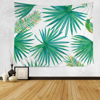 Wall Hanging Art Decoration Tropical Leaf Tapestry