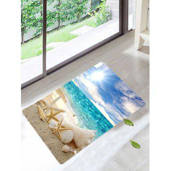 Beach Starfish Sun Skidproof Area Rug