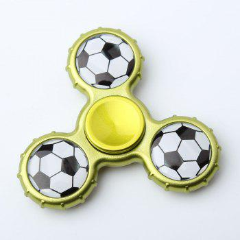 Football Pattern Sport Hand Spinner Fidget Toy