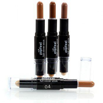Double-Headed Highlighter Concealer Pen Stick -