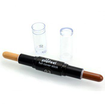 Double-Headed Highlighter Concealer Pen Stick - #03