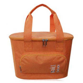 Insulated Lunch Bag with Front Pocket
