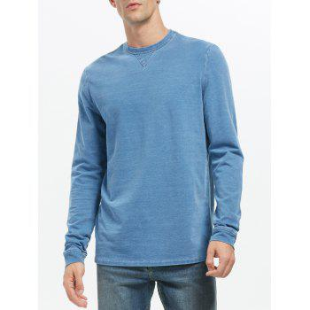 Plain Crew Neck Sweatshirt