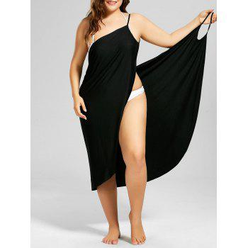 Plus Size Beach Cover-up Wrap Dress
