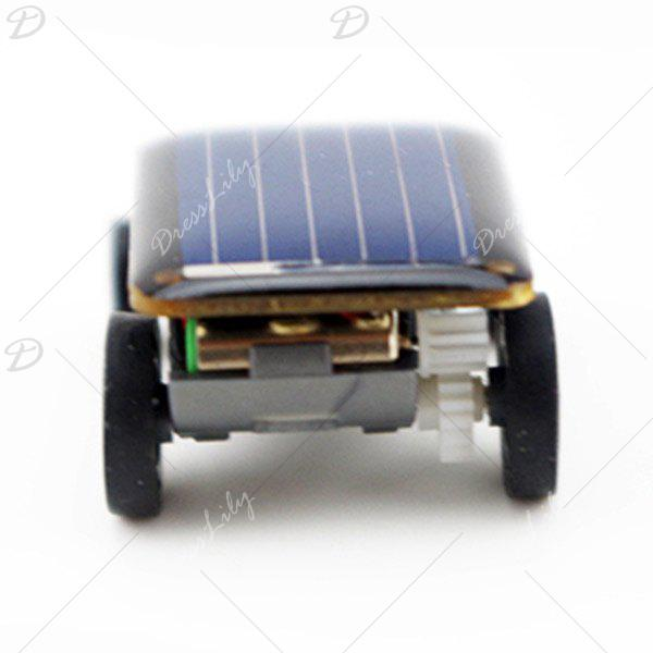 Mini Solar Powered Car - BLACK