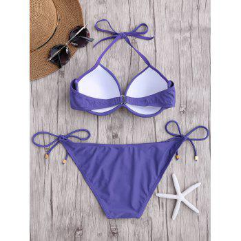Ensemble bikini push-up - Pourpre M