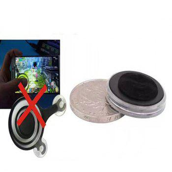 Mobile Phone Coin Sucker Game Joystick - BLACK BLACK