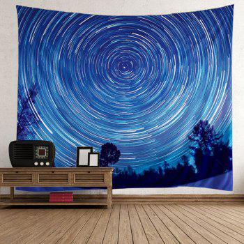 Home Decor Star Vortex Tree Wall Tapestry