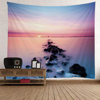 Home Decor 3D Beach Sunset Tapsetry