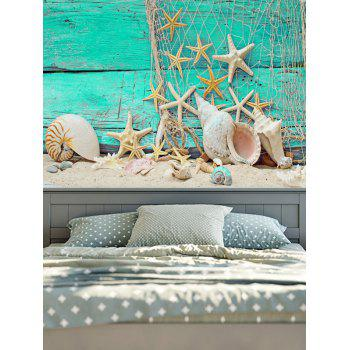 Wall Hanging Beach Style Print Tapestry