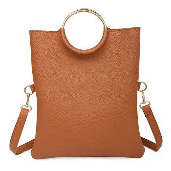 Convertible Metal Ring Tote Bag