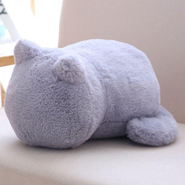 Stuffed Cat Back Birthday Gift Toys Cushion Throw Pillow 1 piece drop shipping plush toys cartoon totoro nanoparticle pillow stuffed plush frog cushion grownups gift