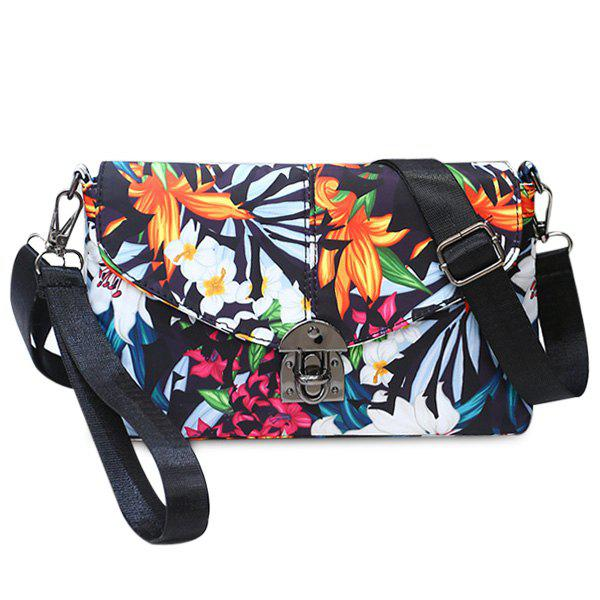 Nylon Floral Printed Crossbody Bag летняя шина michelin pilot primacy 205 60 r16 96w xl mfs g1