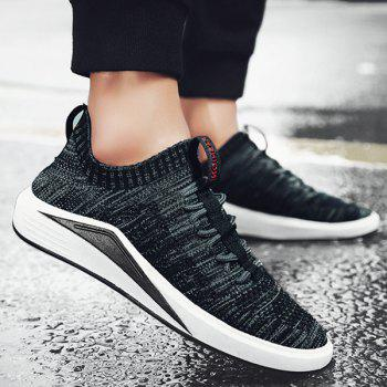 Mesh Colour Block Breathable Casual Shoes