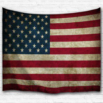Wall Hanging Distressed American Flag Tapestry