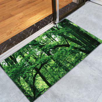 Forest Coral Water Absorbent Velvet Area Rug