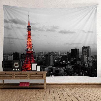 Wall Hanging Art Decor Effiel Tower Print Tapestry