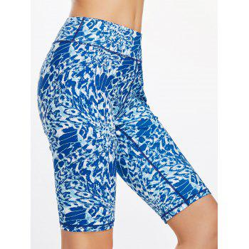 Funny Printed Bermuda Fitness Leggings
