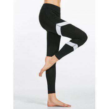 Zigzag Pattern High Waist Yoga Leggings
