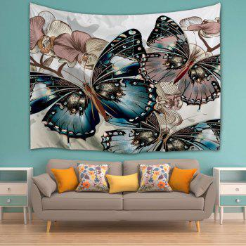 Butterfly Print Home Decor Wall Hanging Tapestry - W71 INCH * L91 INCH W71 INCH * L91 INCH