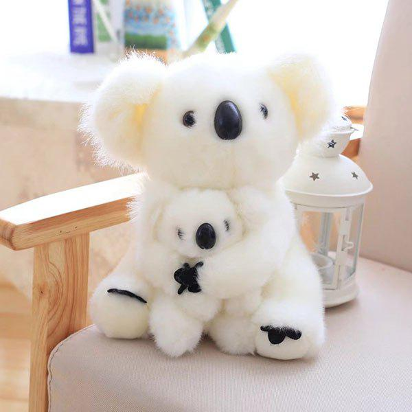 Simulation Toy Koala Mother and Baby Stuffed Animal stuffed toys about 55cm npk bonecas silicone reborn baby dolls safe and big eyes for 22inch soft vinyl alive baby toy for girls