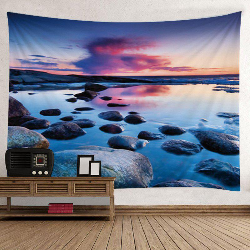 Wall Hanging Art Decor Stone Sunset Print Tapestry paul a  samuelson the price of