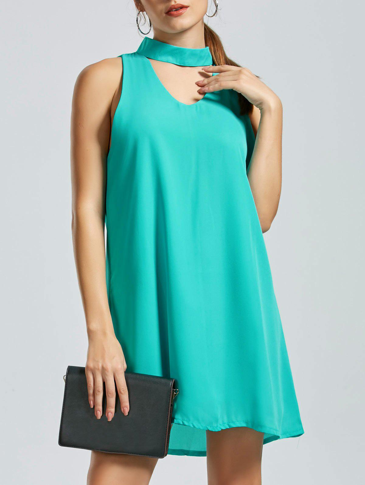 Robe manches sans manches - GREEN S