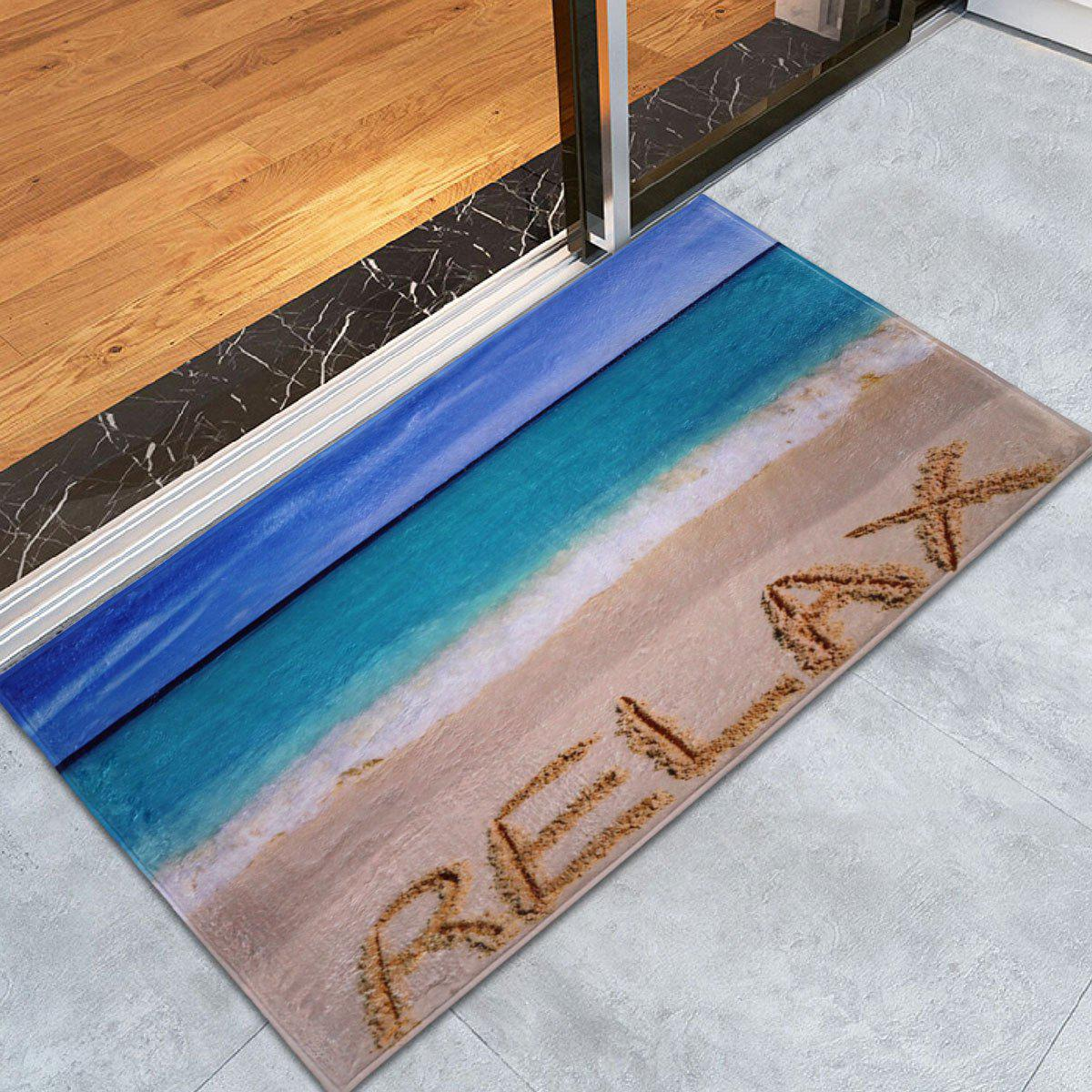 Beach Theme Coral Fleece Bathroom Floor Rug leosport prestashop theme