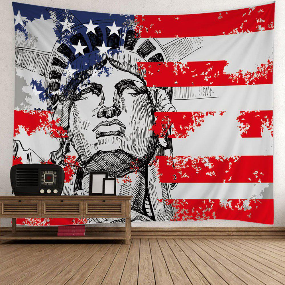Patriotic Statue of Liberty American Flag Print Tapestry t5971 700ml refill ink cartridge with chip resetter for epson stylus pro 7700 9700 7710 printer for epson t5971 t5974 t5978