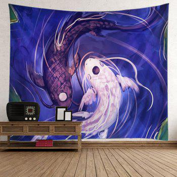 Fish Print Wall Tapestry