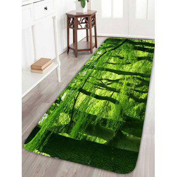 Skidproof 3D Forest Bath Rug