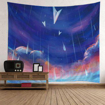Wall Hanging Oil Painting Rainy Tapestry