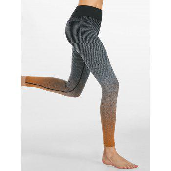 Ombre Rayé Ninth Leggings