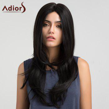 Adiors Long Middle Parting Silky Straight Synthetic Wig