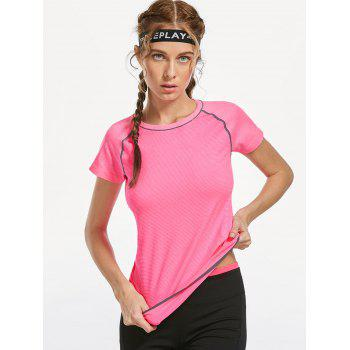 Breathable Raglan Sleeve Sports T-shirt - M M