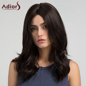 Adiors Long Tail Upwards Middle Part Slightly Curly Synthetic Wig