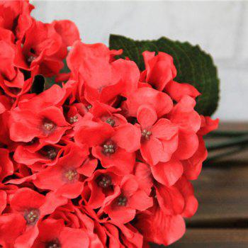 Home Decorative High Simulation Ombre Artificial Flowers - Rouge Clair