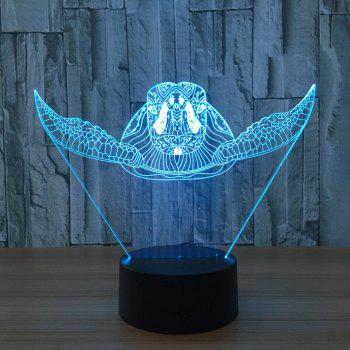 3D Sea Turtle Color Changing Touch Night Light