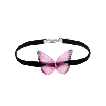 Butterfly Choker Necklace