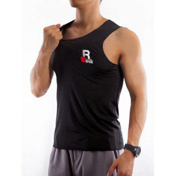 Round Neck Quick Dry Rayon Fitted Tank Top