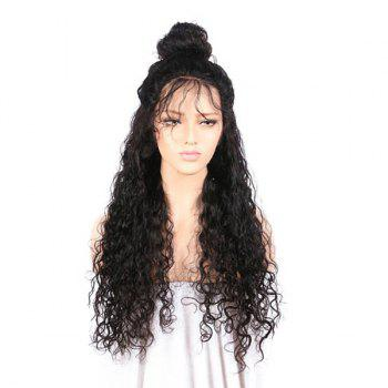 Free Part Kinky Curly Long Lace Front Synthetic Wig