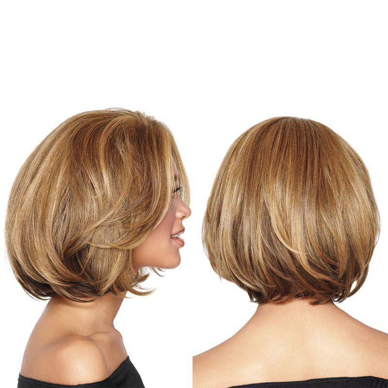 Short Straight Colormix Bob Synthetic Wig - COLORMIX