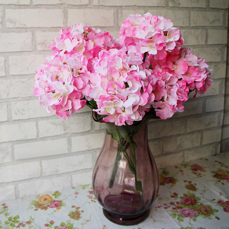 Home Decorative High Simulation Ombre Artificial Flowers - ROSE PÂLE